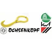 Forst Wendehaken Ochsenkopf Chrom-Vanadium für Forstkette Rückekette Seilwinde
