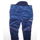 Schnittschutzhose Bundhose Gr.62 Oleo-Mac Interforst Komfort Schnittschutz - A - vorn Klasse 1 dunkelblau