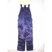 Schnittschutzhose Latzhose Gr. 58 efco Komfort Schnittschutz - A - vorn Klasse 1 blau Interforst