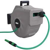 Schlauchtrommel 20m Automatik Güde Schlauchaufroller mit Wandhalterung 180° schwenkbar