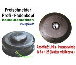 Fadenkopf Alpina Modell VIP 21 bis 52 F + D Anschluss 8x1,25 Li.Innengewinde für Motorsense - Freischneider