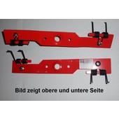 Vertikutiermesser Doppelfeder Kraftharke 40cm Honda Rasenmäher für 41-46cm Schnittbreiten