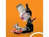 Sägekettenschärfgerät für Sägeketten einer Kettensäge - Schärfgerät Oregon Profi mit Selbstzentrierung der Kette
