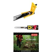 """Schneidgarnitur Power Sharp 35cm SOLO Kettensäge Schwert Oregon 3/8"""" Hobby für  1,1 + 1,3 Nut"""