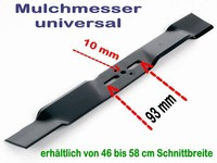 universal bei 10mm Zentrierung
