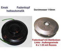 Fadenkopf Oleo-Mac 433 BP + 726 T + Sparta 25 + 250 + Sparta 26 Freischneider Motorsense Emak 110mm