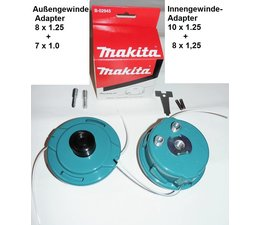 Fadenkopf Makita DUR187 + DUR188 + EM400MP + EM404MP + EM406MP für Akku Trimmer u. Multifuktions Aufsatz