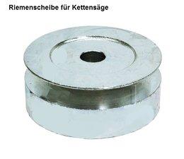 Carving Riemenscheibe für efco + Oleo-Mac 147 + 152 + 947 + 952 für Zusatzgeräte Kettensäge