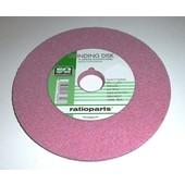 Schleifscheibe Sägekettenschärfgerät 145 x 22,3 x 7,0 rosa weich für Tiefenbegrenzer z.B. für Kettenschärfgerät Oregon