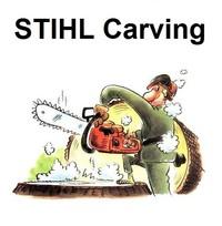 Umrüstsätze Carving für STIHL Benzinsäge Kettensäge