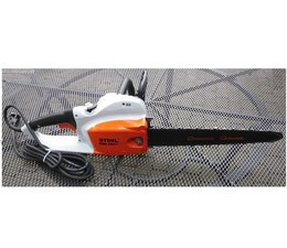 """Carvingsäge STIHL MSE 250 C 40cm Elektro- Kettensäge Carving umgerüstet auf 1/4"""" Kettenteilung"""