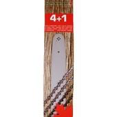 """Schneidgarnitur für Dolmar Schwert 38cm + 4 Ketten 0.325"""" 109 110i 111 115 PS 43 52 4605 500 5000 5105 6100  Vollmeißelkette"""