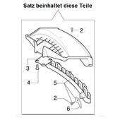 Schutz Schutzhaube Fadenschneider Freischneider Oleo-Mac 433 740 746 750 753 755 S + T + Master Anschlagschutz emak