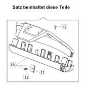 Schutz Schutzhaube mit  Fadenschneider Freischneider Oleo-Mac BC 22  220  24  240  241  270 freischneider Ansclagschutz emak