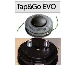 Fadenkopf Efco + Oleo-Mac + Emak Evo Tap&GO Freischneider 2,4 mm Faden 8x1,25 LA oder 10x1,25 Li Innen
