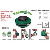 Fadenkopf Efco + Oleo-Mac + Emak Freischneider Speed&GO Kopf 2,4 mm Faden Cassette 8x1,25 Li aussen oder 10x1,25 Li Innen Adapter