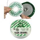 Mähfaden 2,4 mm Ersatzfaden Cassette Speed&Go emak Fadenkopf 3 x 7,0m Pack spezial Kontur für Motorsense u. Freischneider emak Kopf