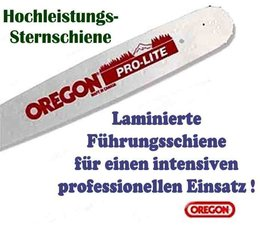"""Schwert 33cm Oregon Stihl 024 MS 240 026 MS 260 028 030 031 0.325"""" 1,6 Führungsschiene Motorsäge"""