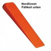 Forstkeil Fällkeil Schnittkeil Keil aus Spezial- Kunststoff Nordforest L. 300 B. 90 H. 30 mm