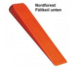 Forstkeil Fällkeil Schnittkeil Keil aus Spezial- Kunststoff Nordforest L. 250 B. 73 H. 30 mm