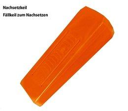 Forstkeil Fällkeil Nachsetzkeil Keil aus Spezial- Kunststoff Nordforest L. 260 B. 73 H. 45 mm