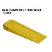 Forstkeil Fällkeil Schnittkeil Keil aus Spezial- Kunststoff Ochsenkopf Alaska L. 230 B. 70 H. 30 mm