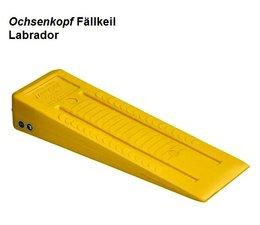 Forstkeil Fällkeil Schnittkeil Keil aus Spezial- Kunststoff Ochsenkopf Labrador L. 245 B. 75 H. 40 mm