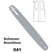 """Schwert 45cm Echo 0.325"""" Profi Kettenteilung 1,5 Nutbreite Sägekette 72 Trgl. mit Sternspitze"""