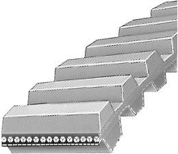Doppelzahnriemen 1600-DS8M20 Mitsuboshi für Messerantrieb