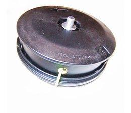 Fadenkopf passend u.a. für Tanaka + Shindaiwa Freischneider Motorsense mit 8 X 1.25 Li Bolzen am Kopf