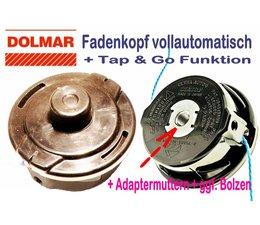 Fadenkopf Dolmar Freischneider MS-20 C MS-20 U MS 22 C MS-220 MS-245.C CE UE MS-250 MS-250.4 MS-252 MS-2300 MS-26 C U MS 2600 MS-3100 MS-3200 MS 3202 MS-3210