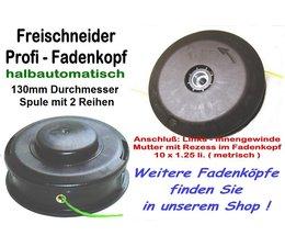 Fadenkopf SOLO FS 125 / 127 / 135 / 136 mit 10x1.25 Li. Innen-Gewinde Freischneider / Motorsense