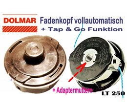 Fadenkopf Dolmar LT-250 Voll - Automatik für rechtsdrehende Freischneider / Motorsense