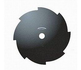 Grasmesser 8-Zahn 250 X 25,4 mm Grasschneidemesser - Wirbelblatt für Motorsense und Freischneider