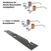 Vertikutiermesser Kraftharke 40cm Honda Rasenmäher für 41-46cm Schnittbreiten + 1 Ersatzfedern