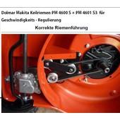Rasenmäher Keilriemen Dolmar PM-4600 S3 + PM-4601 S3 + C + R mit Geschwindigkeitsregulierung