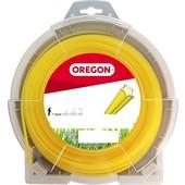 Mähfaden 3,0 mm x 71 m Oregon starline sternförmig gelb für Motorsense und Freischneider