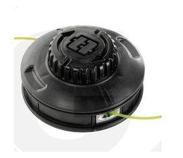 Fadenkopf EasyWork alle Efco + Oleo-Mac + Dynamac + Victus mit geradem Schaft und Winkelgetriebe Leichtladekopf 130mm