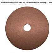 Schleifscheibe Sägekettenschärfgerät Güde GKS 108  Schärfscheibe 108mm x  23mm x 3,2mm