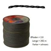 Mähfaden Nylonfaden Vortex oval gewendelt Trimmerfaden Rolle 2,0 mm x 292 m für Motorsense