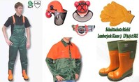 Forst Bekleidung Jacken Hosen Handschuhe Schnittschutzstiefel Helme