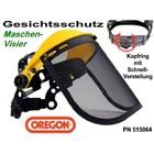 Visier Maschenvisier Oregon Freischneider Motorsense oder Kettensäge als Gesichtschutz ohne Gehörschutz