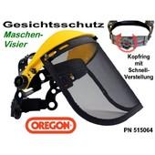 Visier - Maschenvisier Oregon Freischneider Motorsense oder Kettensäge als Gesichtschutz ohne Gehörschutz
