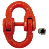 Forstkette Connex Verbindungs-Glied für Lastenkette / Rückekette 6 + 7 mm und Verkürzungs-Garnitur