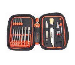 Werkzeug und Pflege - Set für Dolmar Kettensäge und Motorgeräte 19 Teile in einer übersichtlichen Werkzeugtasche