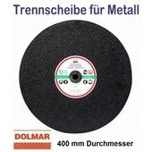 Trennscheibe für Stahl 400 x 20mm 5 Stück für Motortrennschleifer Trennschleifer