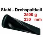 Forstkeil Drehspaltkeil 2,5 Kg Stahlkeil geschmiedet 23cm Spaltkeil zum Holzspalten