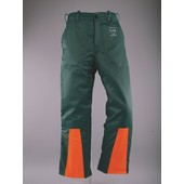 Schnittschutzhose Bundhose Gr. 50 Schnittschutz - A - vorn Klasse