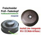 Fadenkopf Alko Modell MS 180 + MS 240 + MS 330 + BC 300 für Freischneider Motorsense M8x1,25 Li.Innengewinde