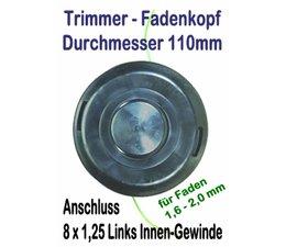 Freischneider Fadenkopf Efco 8091 Oleo-Mac TR91E Trimmer elektrische Motorsense